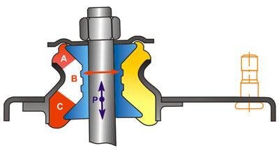 Схема опоры SS20