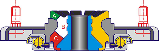Схема опор для Lada Priora от SS20